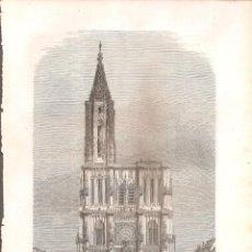 Arte: 2349. CATEDRAL DE STRASBOURG. Lote 210490112