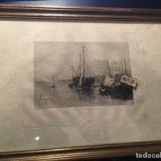 Arte: MALLORCA / FRANCISCO MAURA MONTANER PALMA 1857 IRUN 1931 - BARTOLOME MAURA MONTANER - ANTIGUO GRABAD. Lote 210579063