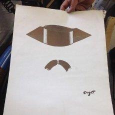 Arte: XAVIER CUGAT. GUARDIA CIVIL. ARTIPROM ARTE Y PROMOCION. 1981. Lote 210586155