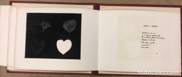 Arte: PORTFOLIO 6 GRABADOS ORIGINALES DE J.M. ELEXPURU Y 6 POEMAS DE M. JAUREGUI ESTAMPADOS A MANO - Foto 7 - 210614187