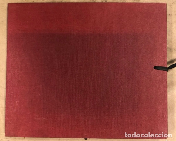 Arte: PORTFOLIO 6 GRABADOS ORIGINALES DE J.M. ELEXPURU Y 6 POEMAS DE M. JAUREGUI ESTAMPADOS A MANO - Foto 8 - 210614187