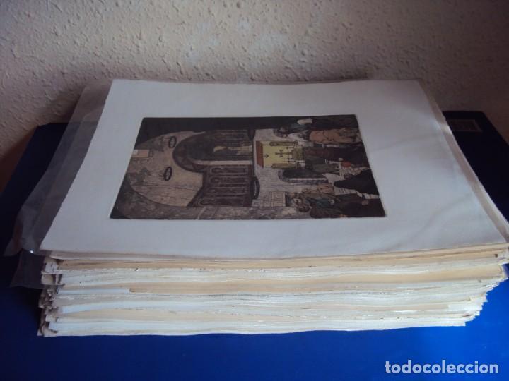 (PA-200700)LOTE DE 249 GRABADOS Y AGUAFUERTES DE RAMON CAPMANY Y MONTANER (1899-1992) (Arte - Grabados - Contemporáneos siglo XX)