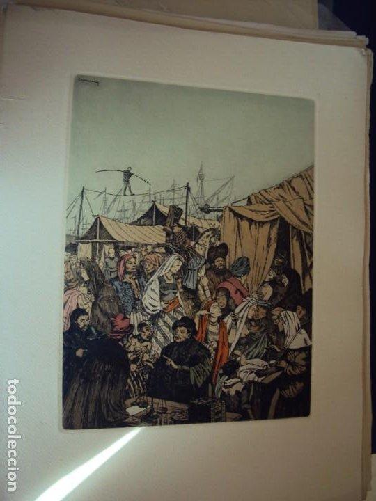 Arte: (PA-200700)LOTE DE 249 GRABADOS Y AGUAFUERTES DE RAMON CAPMANY Y MONTANER (1899-1992) - Foto 6 - 210650055