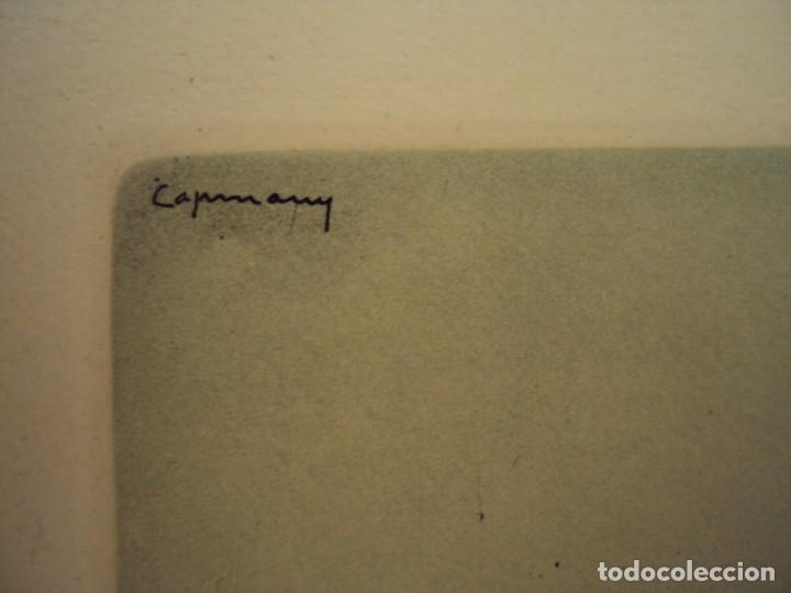 Arte: (PA-200700)LOTE DE 249 GRABADOS Y AGUAFUERTES DE RAMON CAPMANY Y MONTANER (1899-1992) - Foto 7 - 210650055