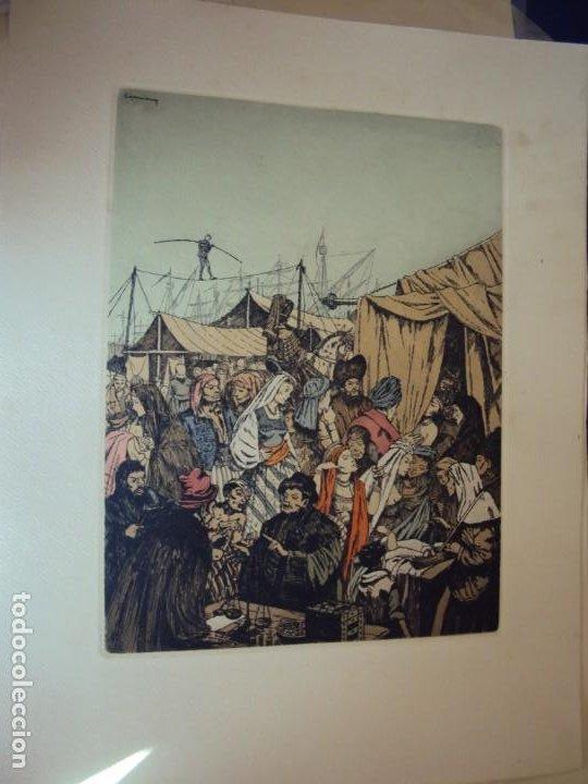 Arte: (PA-200700)LOTE DE 249 GRABADOS Y AGUAFUERTES DE RAMON CAPMANY Y MONTANER (1899-1992) - Foto 8 - 210650055