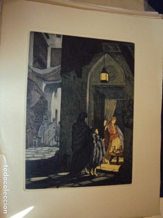 Arte: (PA-200700)LOTE DE 249 GRABADOS Y AGUAFUERTES DE RAMON CAPMANY Y MONTANER (1899-1992) - Foto 9 - 210650055