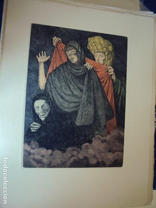 Arte: (PA-200700)LOTE DE 249 GRABADOS Y AGUAFUERTES DE RAMON CAPMANY Y MONTANER (1899-1992) - Foto 12 - 210650055