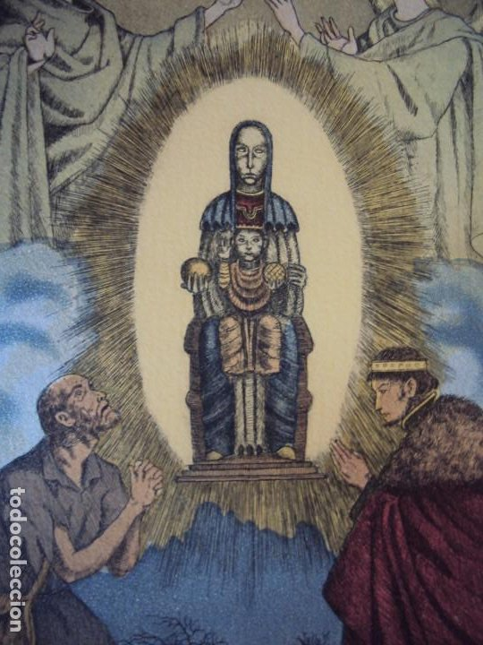 Arte: (PA-200700)LOTE DE 249 GRABADOS Y AGUAFUERTES DE RAMON CAPMANY Y MONTANER (1899-1992) - Foto 26 - 210650055