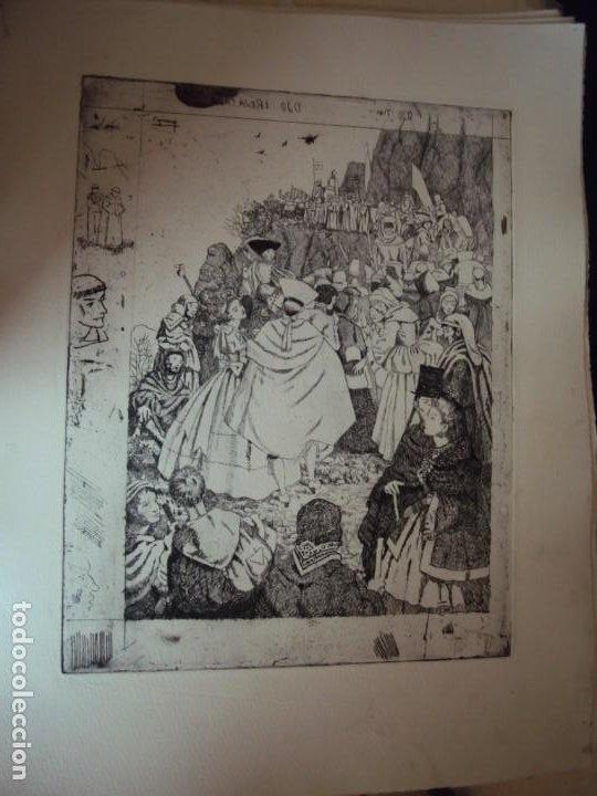 Arte: (PA-200700)LOTE DE 249 GRABADOS Y AGUAFUERTES DE RAMON CAPMANY Y MONTANER (1899-1992) - Foto 29 - 210650055