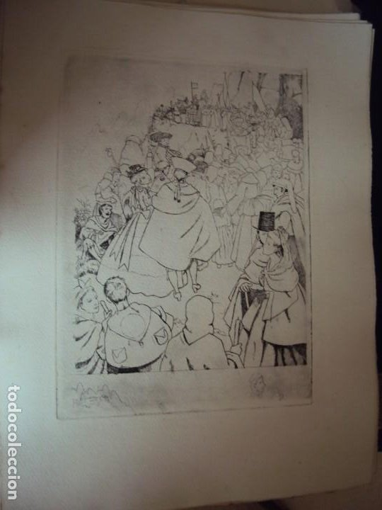Arte: (PA-200700)LOTE DE 249 GRABADOS Y AGUAFUERTES DE RAMON CAPMANY Y MONTANER (1899-1992) - Foto 30 - 210650055