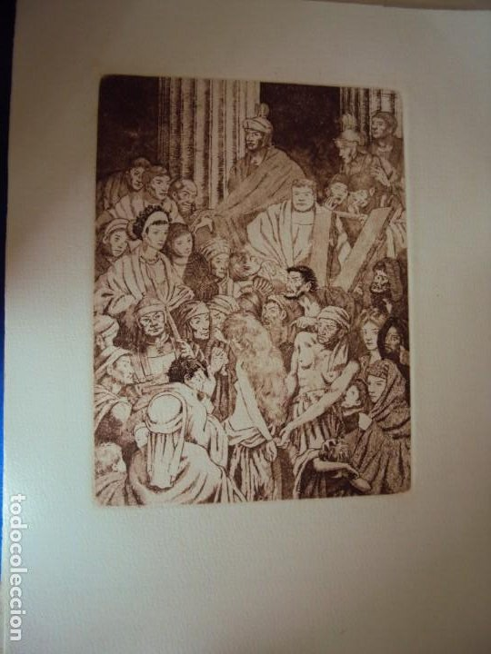 Arte: (PA-200700)LOTE DE 249 GRABADOS Y AGUAFUERTES DE RAMON CAPMANY Y MONTANER (1899-1992) - Foto 34 - 210650055