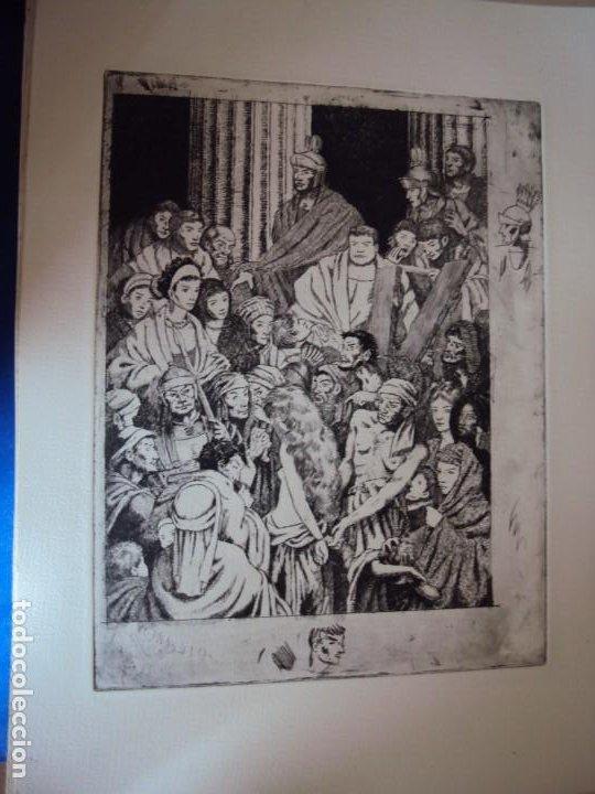 Arte: (PA-200700)LOTE DE 249 GRABADOS Y AGUAFUERTES DE RAMON CAPMANY Y MONTANER (1899-1992) - Foto 35 - 210650055