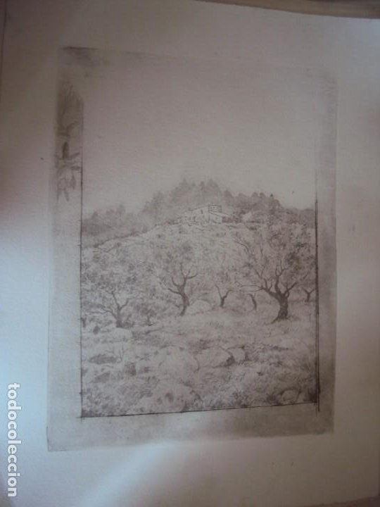 Arte: (PA-200700)LOTE DE 249 GRABADOS Y AGUAFUERTES DE RAMON CAPMANY Y MONTANER (1899-1992) - Foto 36 - 210650055