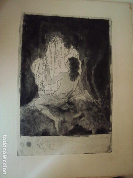 Arte: (PA-200700)LOTE DE 249 GRABADOS Y AGUAFUERTES DE RAMON CAPMANY Y MONTANER (1899-1992) - Foto 44 - 210650055