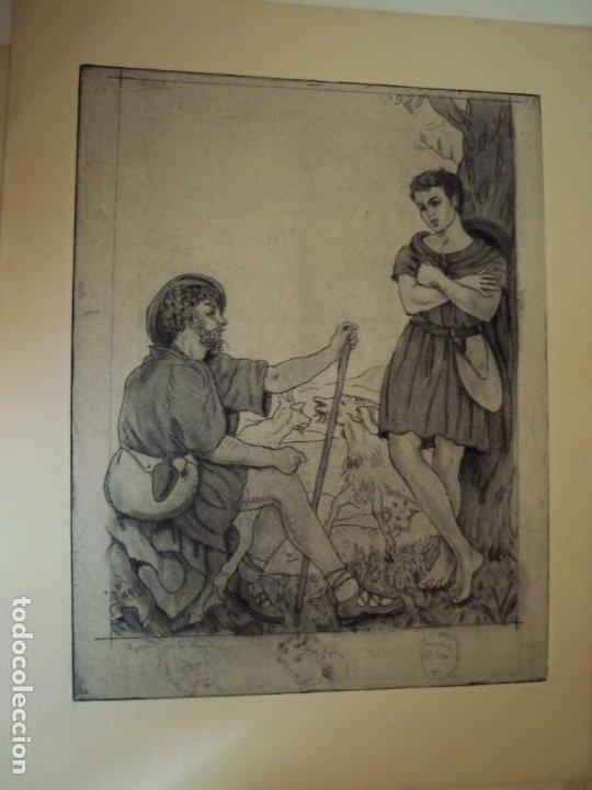 Arte: (PA-200700)LOTE DE 249 GRABADOS Y AGUAFUERTES DE RAMON CAPMANY Y MONTANER (1899-1992) - Foto 45 - 210650055