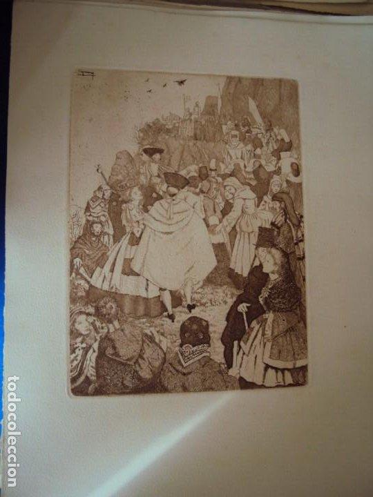 Arte: (PA-200700)LOTE DE 249 GRABADOS Y AGUAFUERTES DE RAMON CAPMANY Y MONTANER (1899-1992) - Foto 47 - 210650055