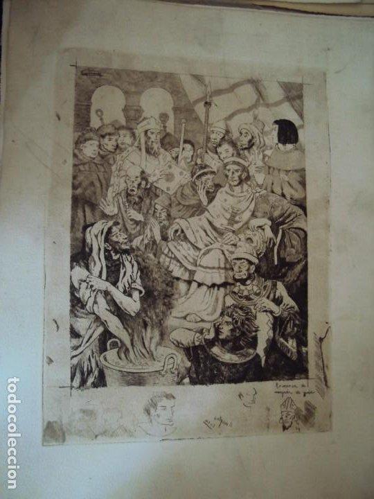Arte: (PA-200700)LOTE DE 249 GRABADOS Y AGUAFUERTES DE RAMON CAPMANY Y MONTANER (1899-1992) - Foto 49 - 210650055