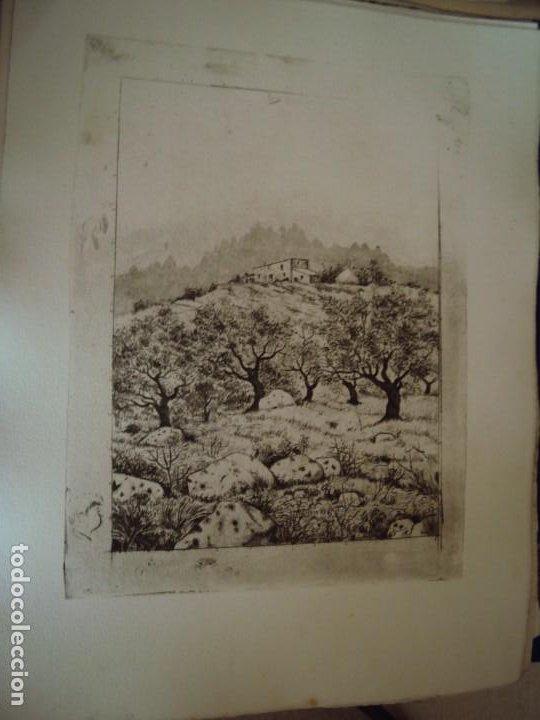 Arte: (PA-200700)LOTE DE 249 GRABADOS Y AGUAFUERTES DE RAMON CAPMANY Y MONTANER (1899-1992) - Foto 53 - 210650055