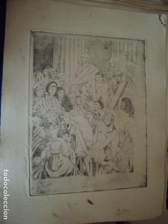 Arte: (PA-200700)LOTE DE 249 GRABADOS Y AGUAFUERTES DE RAMON CAPMANY Y MONTANER (1899-1992) - Foto 57 - 210650055