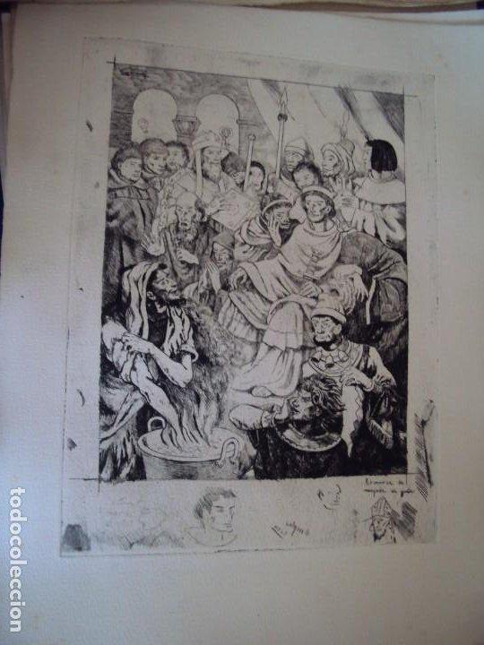Arte: (PA-200700)LOTE DE 249 GRABADOS Y AGUAFUERTES DE RAMON CAPMANY Y MONTANER (1899-1992) - Foto 58 - 210650055
