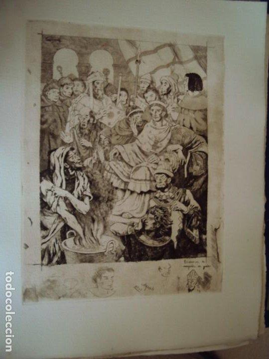 Arte: (PA-200700)LOTE DE 249 GRABADOS Y AGUAFUERTES DE RAMON CAPMANY Y MONTANER (1899-1992) - Foto 59 - 210650055