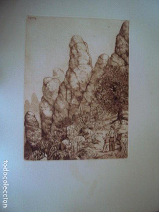 Arte: (PA-200700)LOTE DE 249 GRABADOS Y AGUAFUERTES DE RAMON CAPMANY Y MONTANER (1899-1992) - Foto 61 - 210650055