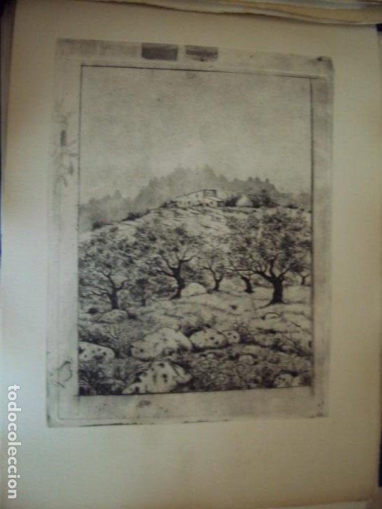 Arte: (PA-200700)LOTE DE 249 GRABADOS Y AGUAFUERTES DE RAMON CAPMANY Y MONTANER (1899-1992) - Foto 62 - 210650055
