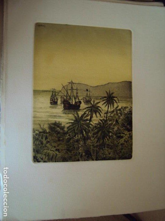 Arte: (PA-200700)LOTE DE 249 GRABADOS Y AGUAFUERTES DE RAMON CAPMANY Y MONTANER (1899-1992) - Foto 65 - 210650055