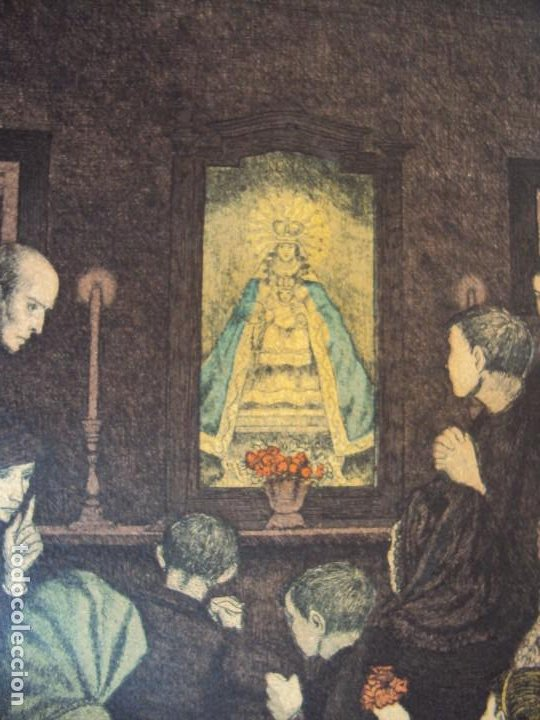 Arte: (PA-200700)LOTE DE 249 GRABADOS Y AGUAFUERTES DE RAMON CAPMANY Y MONTANER (1899-1992) - Foto 76 - 210650055