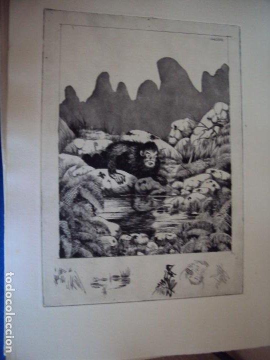 Arte: (PA-200700)LOTE DE 249 GRABADOS Y AGUAFUERTES DE RAMON CAPMANY Y MONTANER (1899-1992) - Foto 78 - 210650055