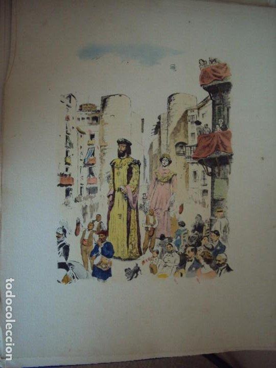 Arte: (PA-200700)LOTE DE 249 GRABADOS Y AGUAFUERTES DE RAMON CAPMANY Y MONTANER (1899-1992) - Foto 79 - 210650055
