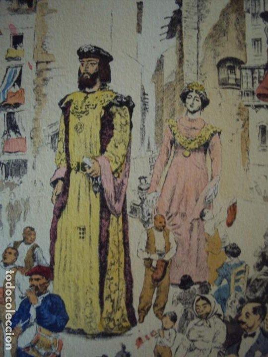 Arte: (PA-200700)LOTE DE 249 GRABADOS Y AGUAFUERTES DE RAMON CAPMANY Y MONTANER (1899-1992) - Foto 80 - 210650055