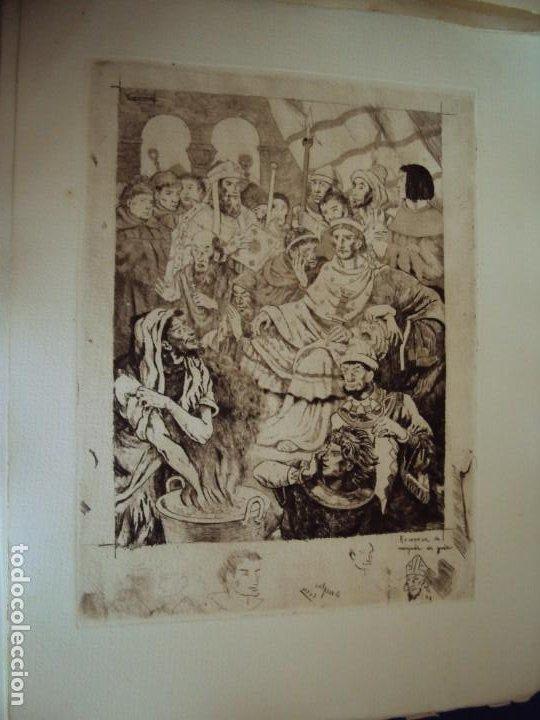 Arte: (PA-200700)LOTE DE 249 GRABADOS Y AGUAFUERTES DE RAMON CAPMANY Y MONTANER (1899-1992) - Foto 86 - 210650055