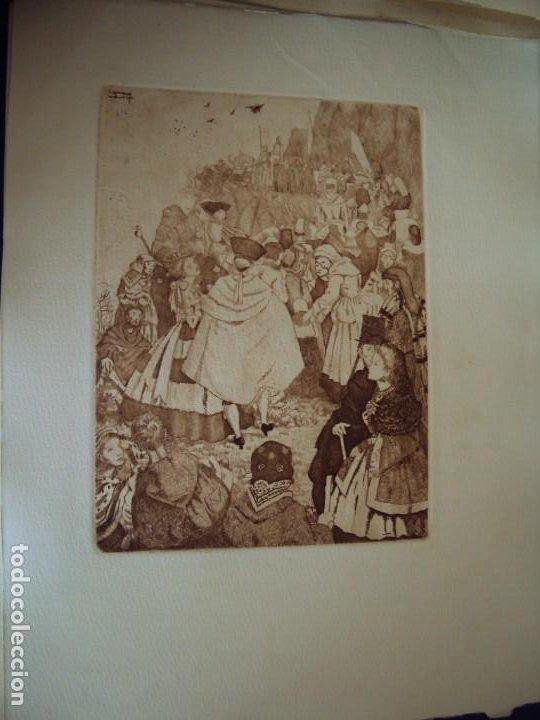Arte: (PA-200700)LOTE DE 249 GRABADOS Y AGUAFUERTES DE RAMON CAPMANY Y MONTANER (1899-1992) - Foto 87 - 210650055