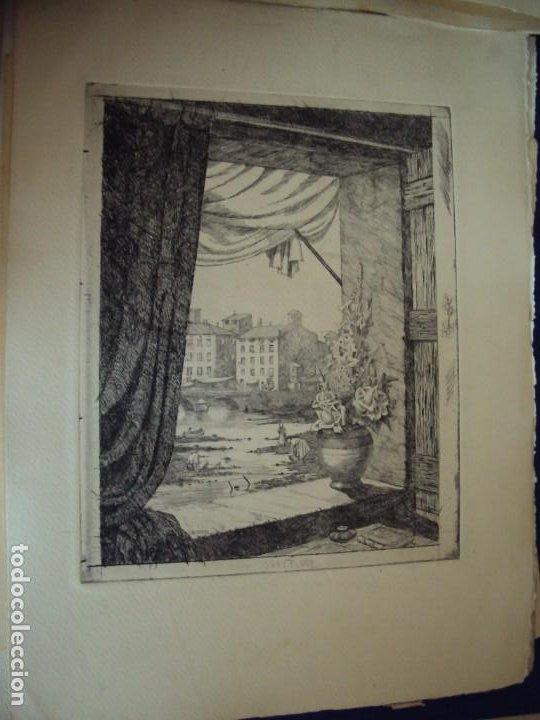 Arte: (PA-200700)LOTE DE 249 GRABADOS Y AGUAFUERTES DE RAMON CAPMANY Y MONTANER (1899-1992) - Foto 90 - 210650055