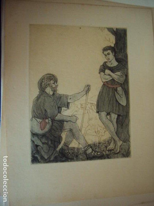 Arte: (PA-200700)LOTE DE 249 GRABADOS Y AGUAFUERTES DE RAMON CAPMANY Y MONTANER (1899-1992) - Foto 91 - 210650055