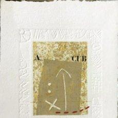 Arte: ALAIN SOUCASSE (FRANCE 1951). Lote 210724500