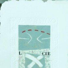Arte: ALAIN SOUCASSE (FRANCE 1951). Lote 210724697