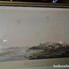 Arte: GRABADO SIGLO XIX. . . TUY. . PONTEVEDRA. Lote 210787554