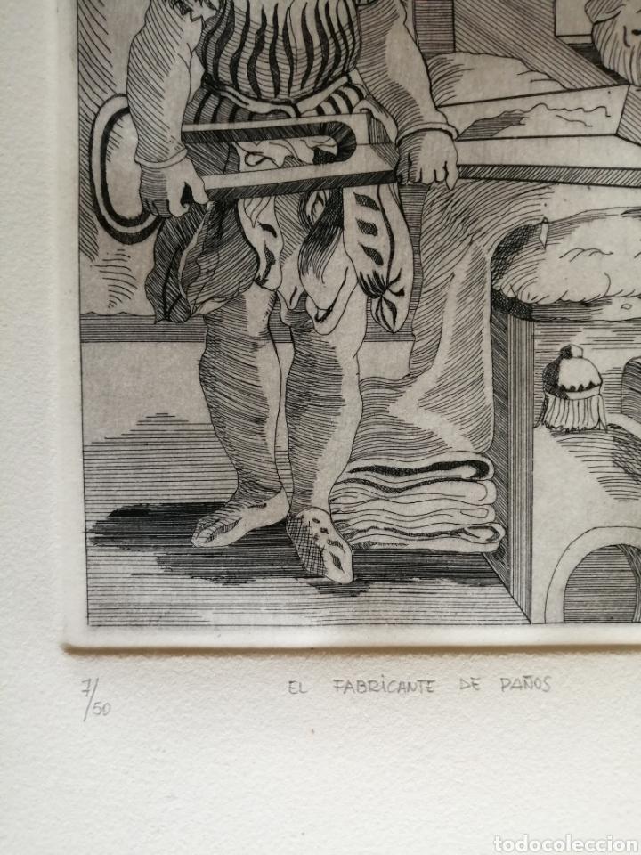 Arte: A. Santos ( Ángeles Santos?). Grabado firmado, titulado y numerado. - Foto 4 - 211413646