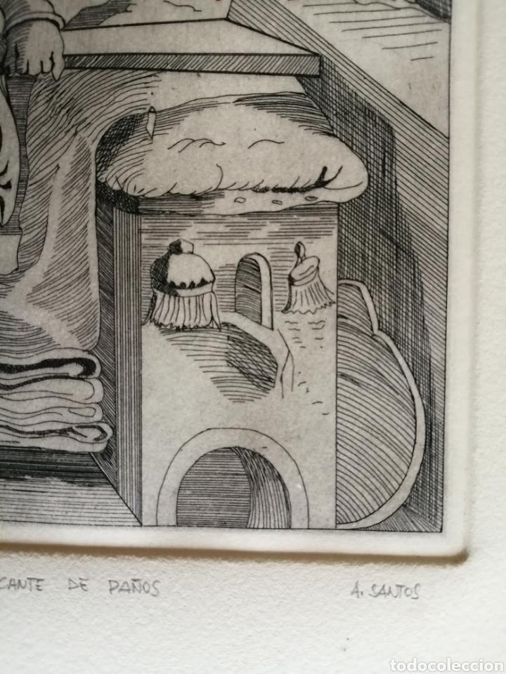 Arte: A. Santos ( Ángeles Santos?). Grabado firmado, titulado y numerado. - Foto 5 - 211413646