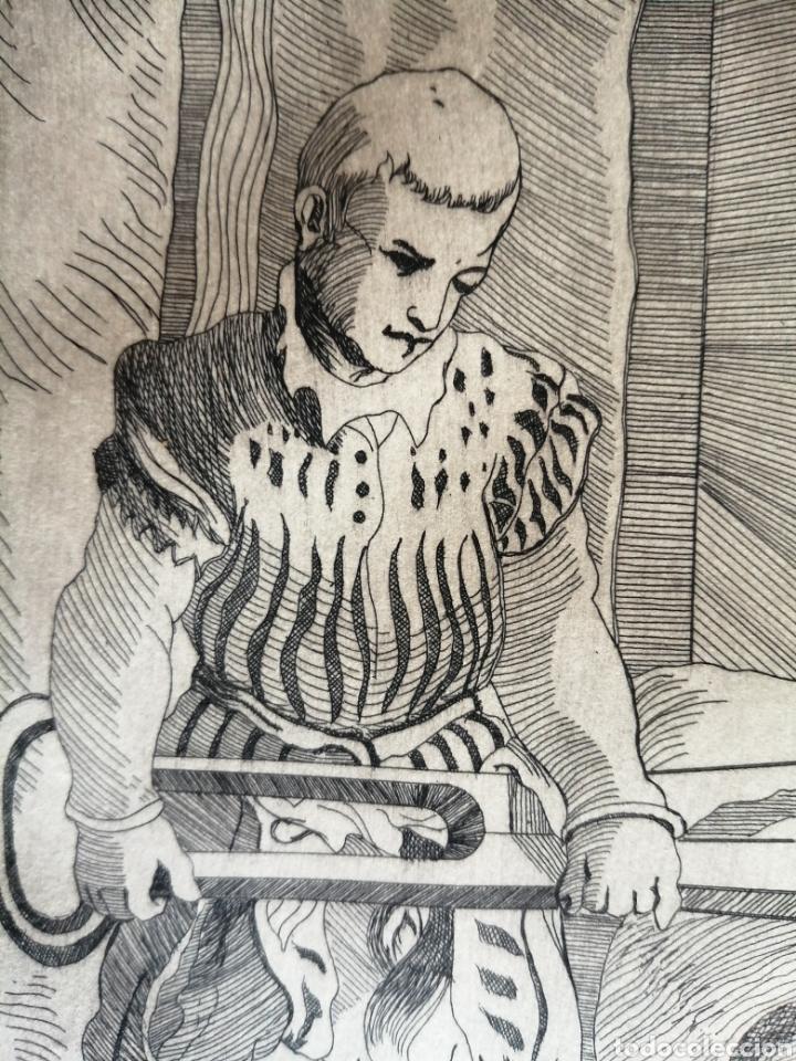 Arte: A. Santos ( Ángeles Santos?). Grabado firmado, titulado y numerado. - Foto 6 - 211413646