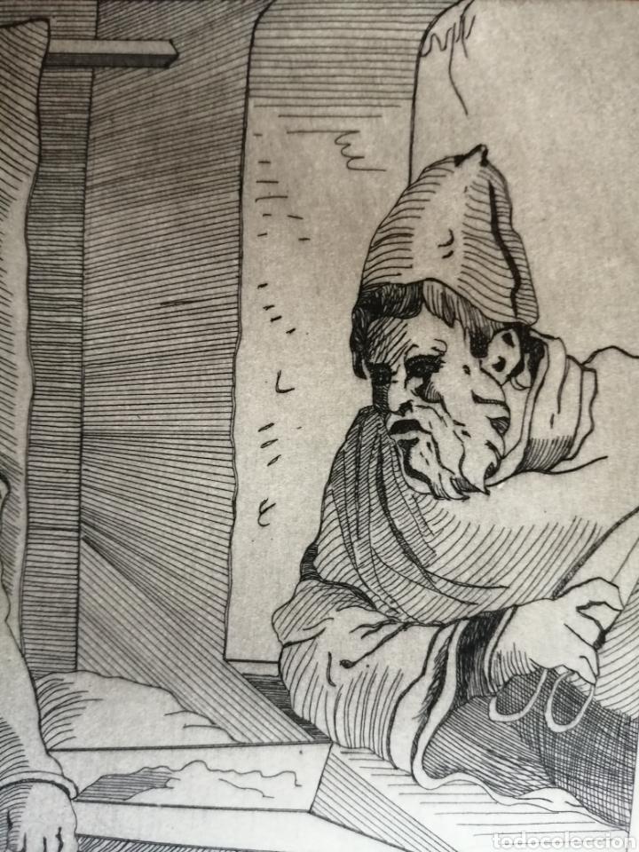 Arte: A. Santos ( Ángeles Santos?). Grabado firmado, titulado y numerado. - Foto 7 - 211413646