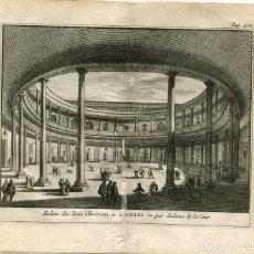 Arte: GRANADA.PATIO DEL PALACIO DE LOS REYES CRETIENSES. ALVAREZ DE COLMENAR 1707. Lote 211481031