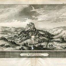 Arte: CADIZ. HARDALES. GRABADO ALVAREZ DE COLMENAR, 1707. Lote 211481207