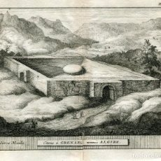 Arte: CISTERNE Á GRENADE NOMMEÉ ALGIBE POR ALVAREZ DE COLMENAR. 1707. Lote 211481780