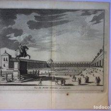 Arte: GRABADO ANTIGUO. FELIPE IV. PALACIO RETIRO MADRID (ESPAÑA) DELICES ESPAGNE. VAN DER AA. AÑO 1715. Lote 211580062