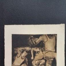 Arte: GRABADO DE DWIGHT PRUEBA AUTOR FIRMADO.. Lote 211598099