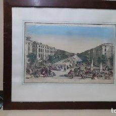 Arte: BONITO GRABADO DESANIMOS EN TIEMPOS DE PESTE 1720. Lote 211623922