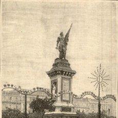 Arte: 1894 - SAN SEBATIAN DONOSTI GUIPUZCOA ALMIRANTE ANTONIO OQUENDO LA ILUSTRACIÓN ESPAÑOLA Y AMERICANA. Lote 211683036